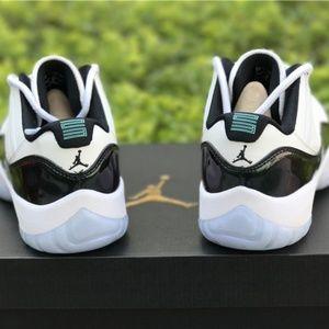 1e0edc9eaed Air-Jordan-11-Low-Easter-White-Emerald-Rise-